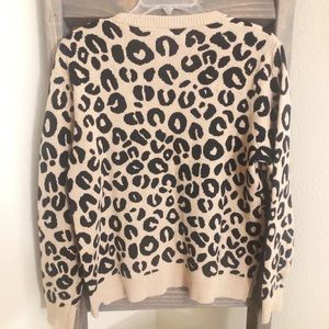 Sweaters - Cozy Leopard Print Sweater | Pullover ✨